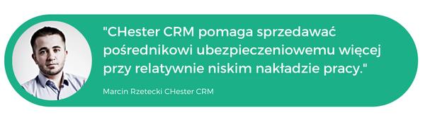 Chestercrm program crm dla agent ubezpieczeniowego