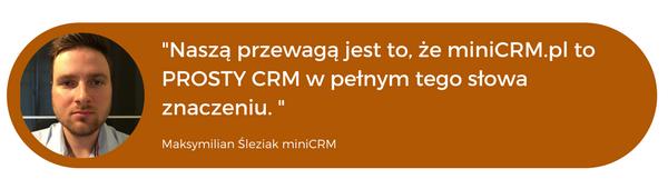 minicrm program crm dla agent ubezpieczeniowego